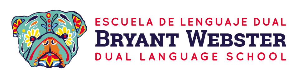 Bryant Webster Dual Language horizontal color logo
